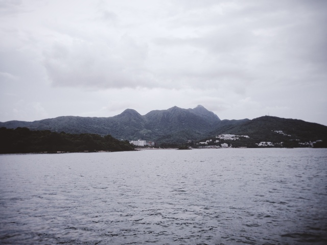 In the middle of nowhere, near Sai Kung