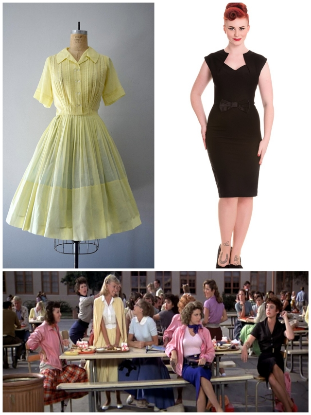 Grease Summer Nights Sandy Rizzo Fashion Style