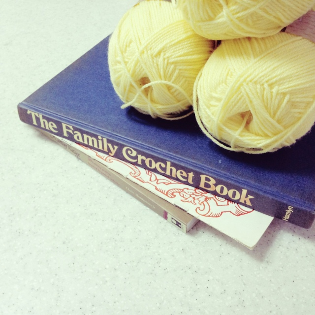 Vintage The Family Crochet Book 1971