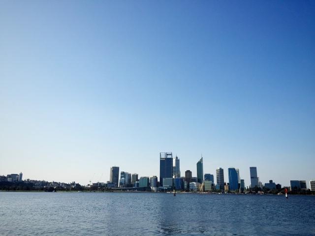 Perth skyline tourism Western Australia