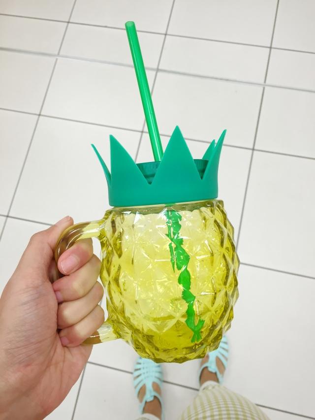 pineapple mason jar target australia