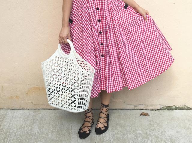 Sun Jellies Jasmine tote retro 1950s style