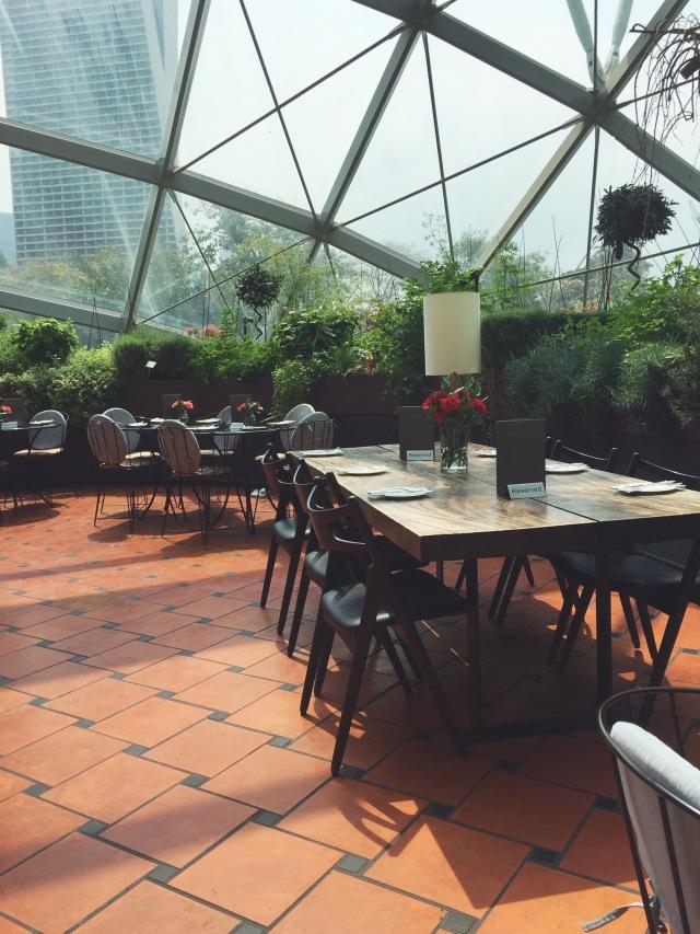 high tea singapore pollen gardens by the bay