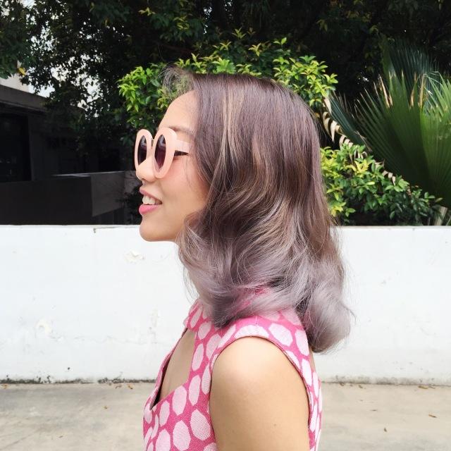 gwenstella ash grey hair retro vintage style