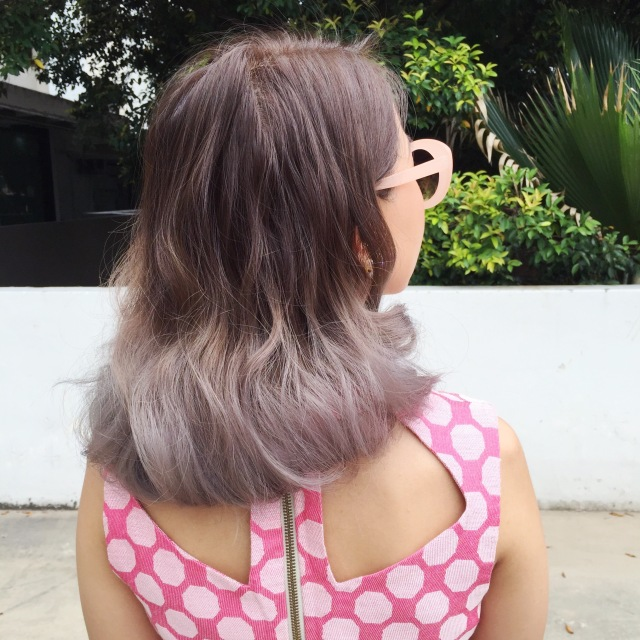 gwenstella ash grey hair retro vintage style