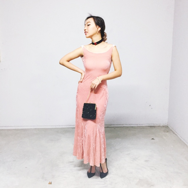Vintage 90's does 30's Betsey Johnson dress